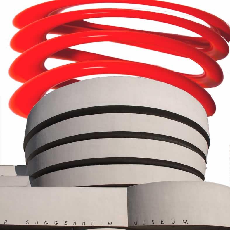 Studio (di) molle: Guggenheim (di) molle 1
