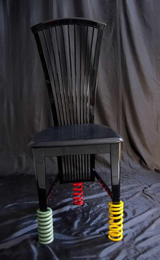 Studio (di) molle: sedia a molle