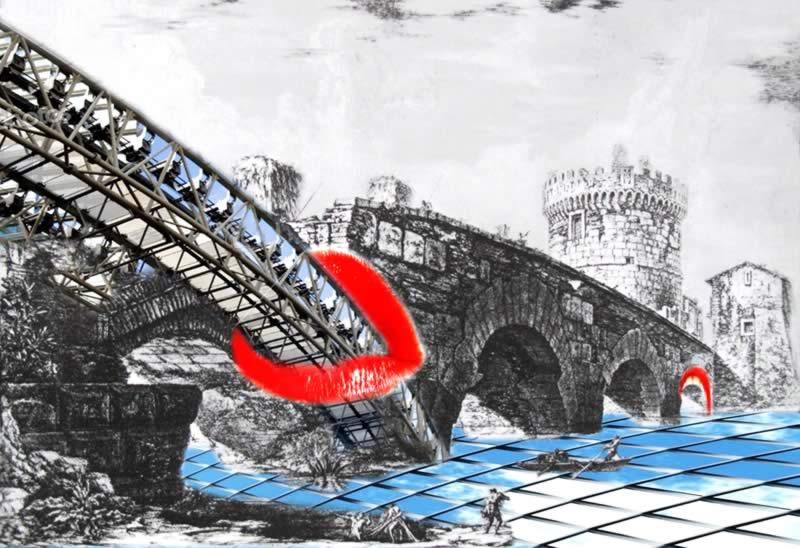 omaggio a Piranesi: Ponte Lucano