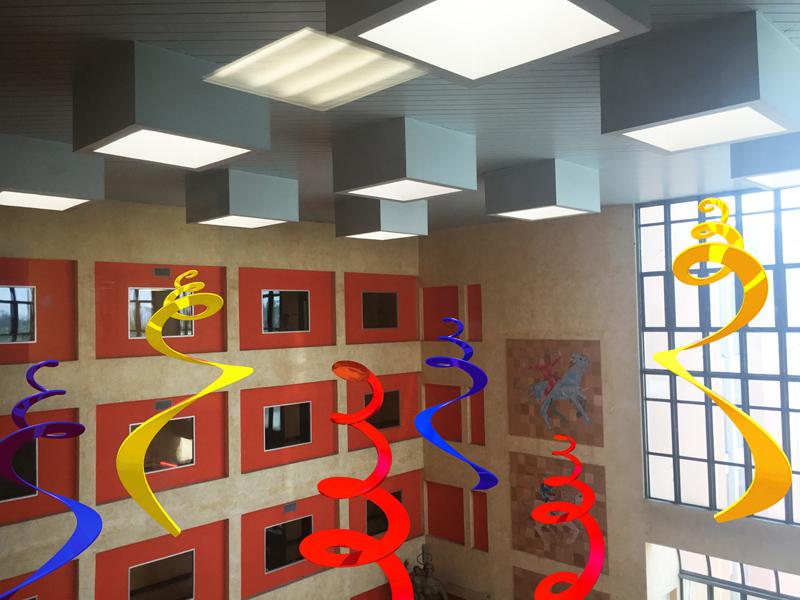 Studio (di) molle: Onde di luce, studio per Ospedale San Raffaele, Milano, 2017