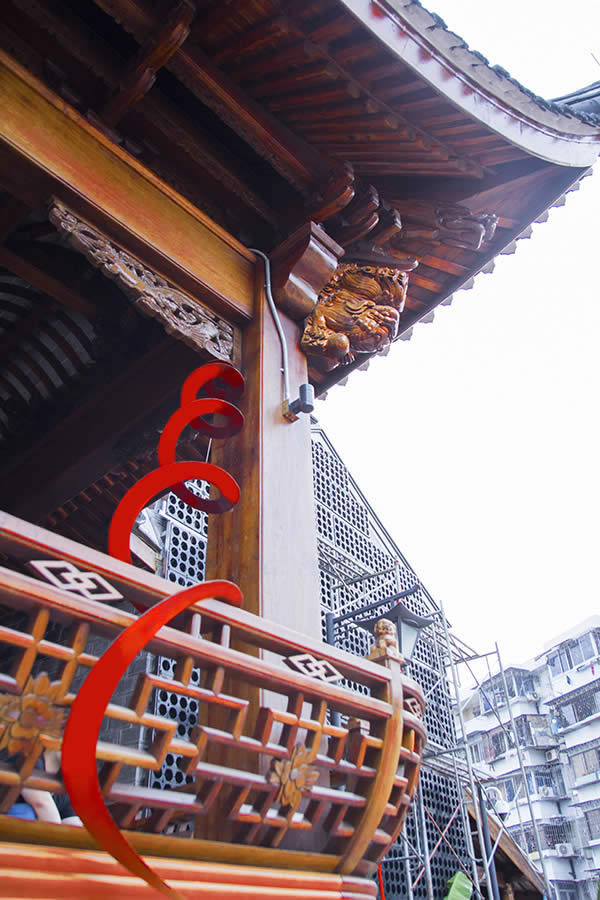 Studio (di) molle: Palco di Nan Tang LaoJie 2, Ningbo, Cina