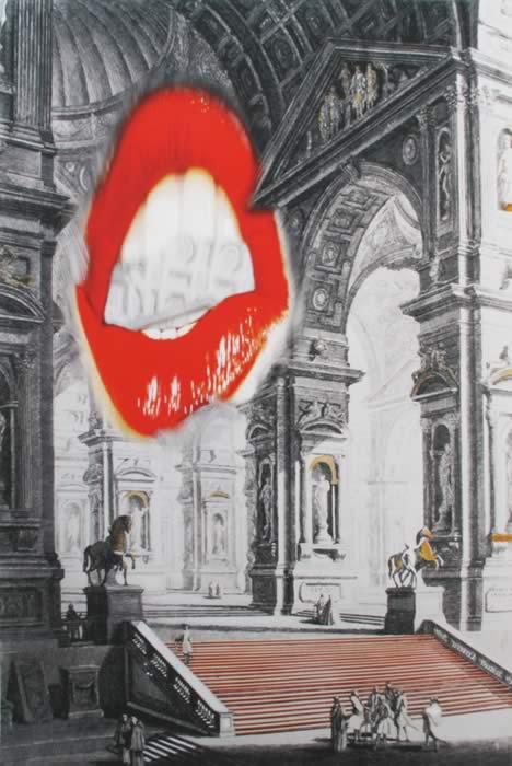 omaggio a Piranesi: Galleria Grande di Statue
