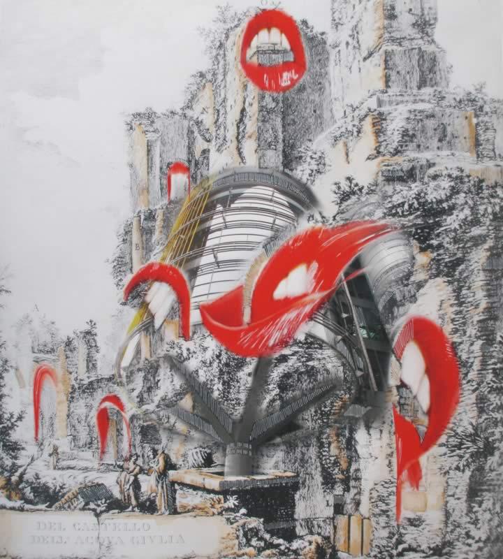 omaggio a Piranesi: Del Castello dell'acqua Giulia