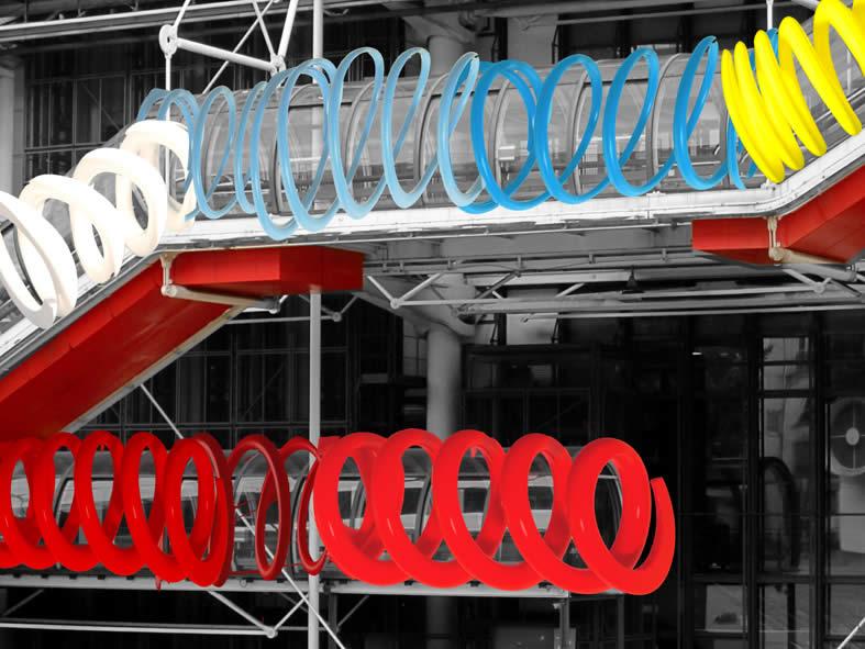 Studio (di) molle: Pompidou (di) molle