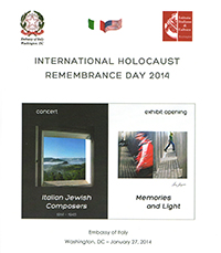 International Holocaust Remembrance Day:Gennaio 2014
